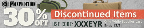 Maxpedition - 30% off Discontinued items!