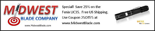 UC35 On Sale at MidwestBlade.com